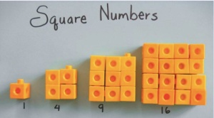 Square number patterns